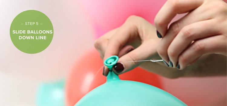 how to make a balloon arch step 5