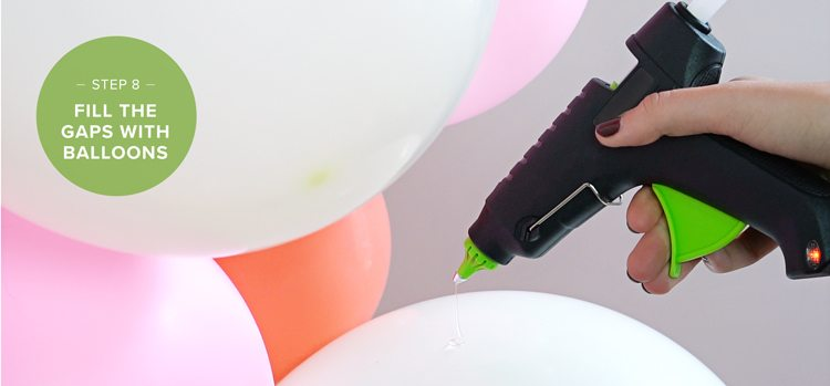 how to make a balloon arch step 8