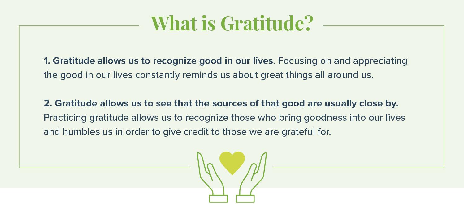 ways to practice gratitude what is