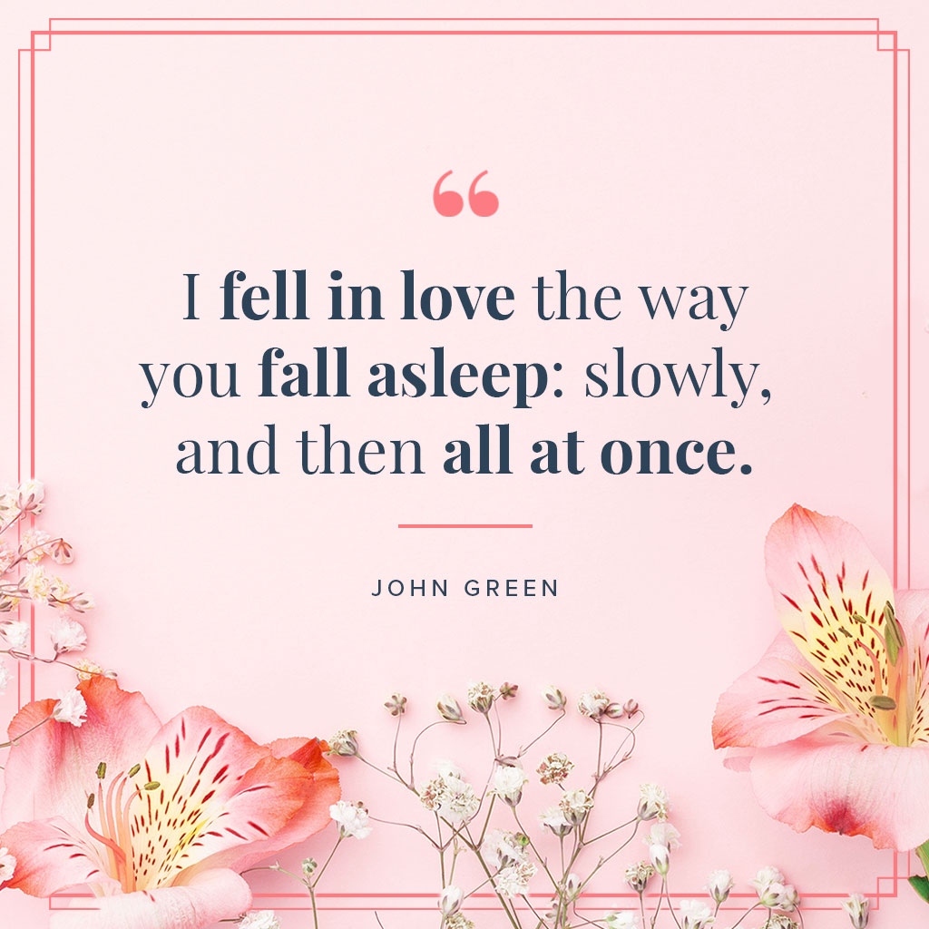 i love you quotes for him on pink background