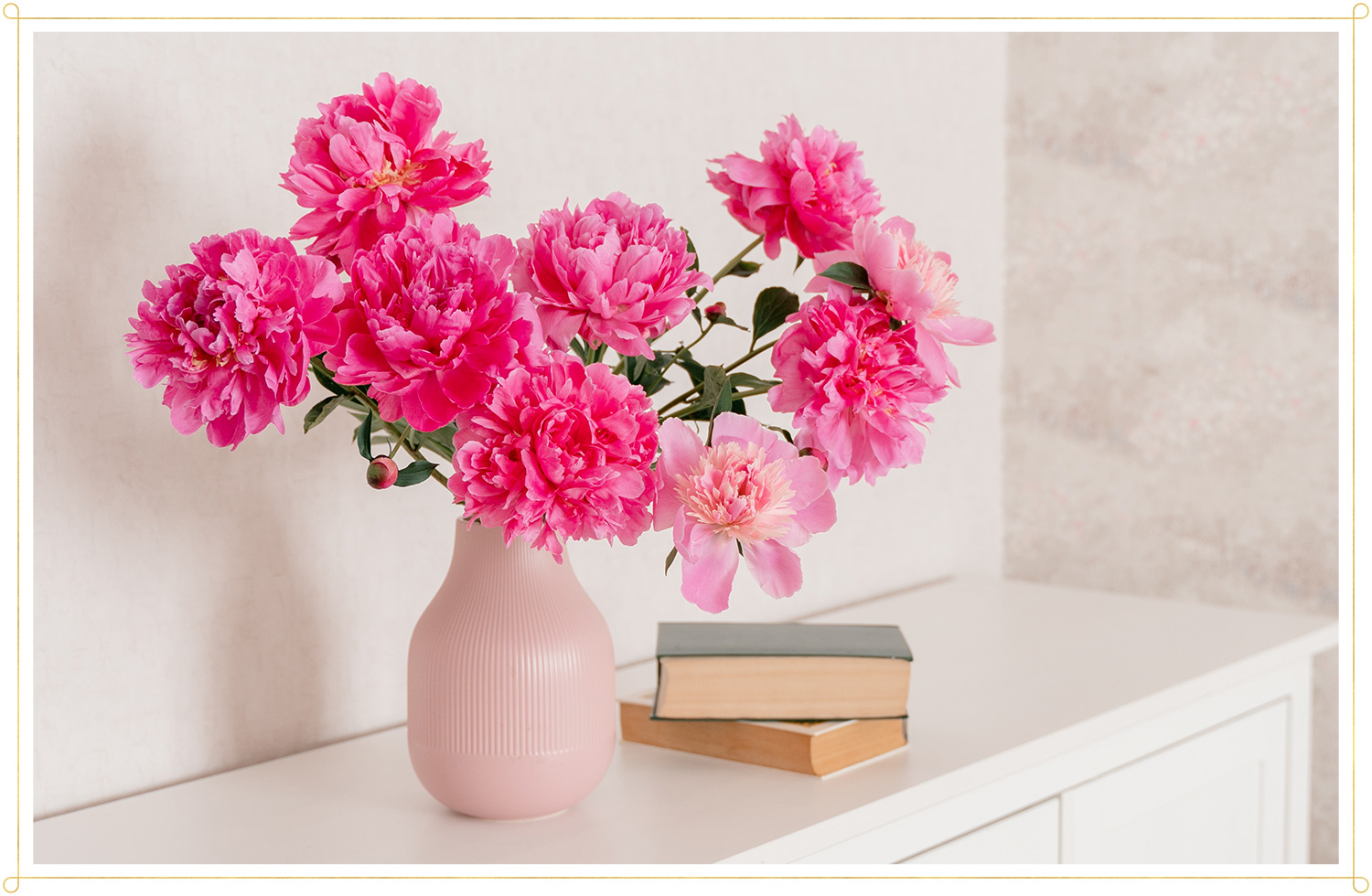 peony bouquet care tips