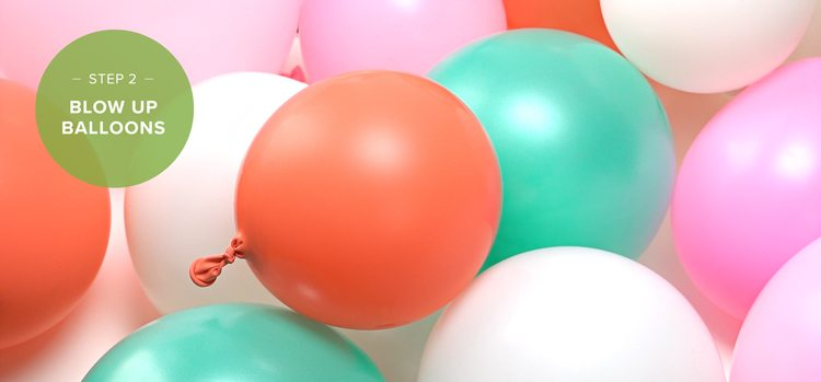 how to make a balloon arch step 2