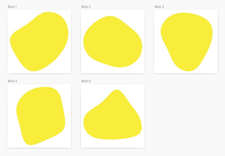 blob shapes