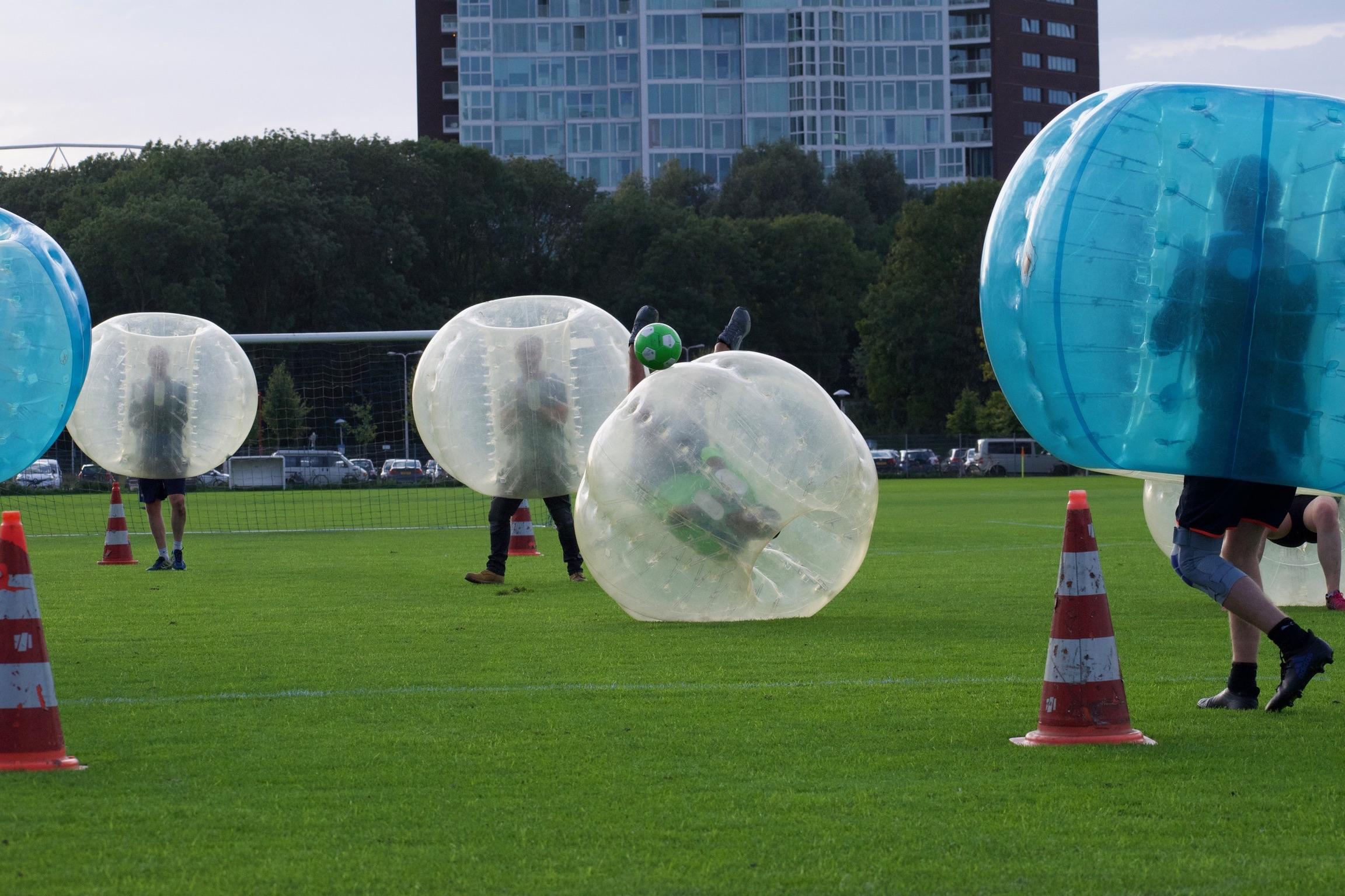 Buiten spelen good shot bubble