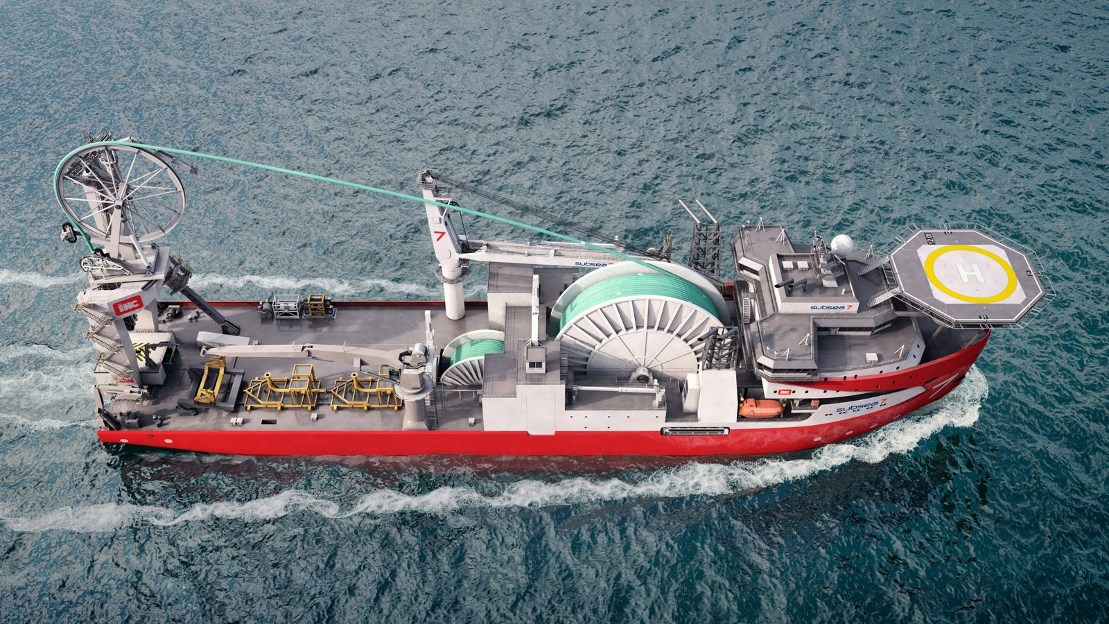 Royal IHC vessel