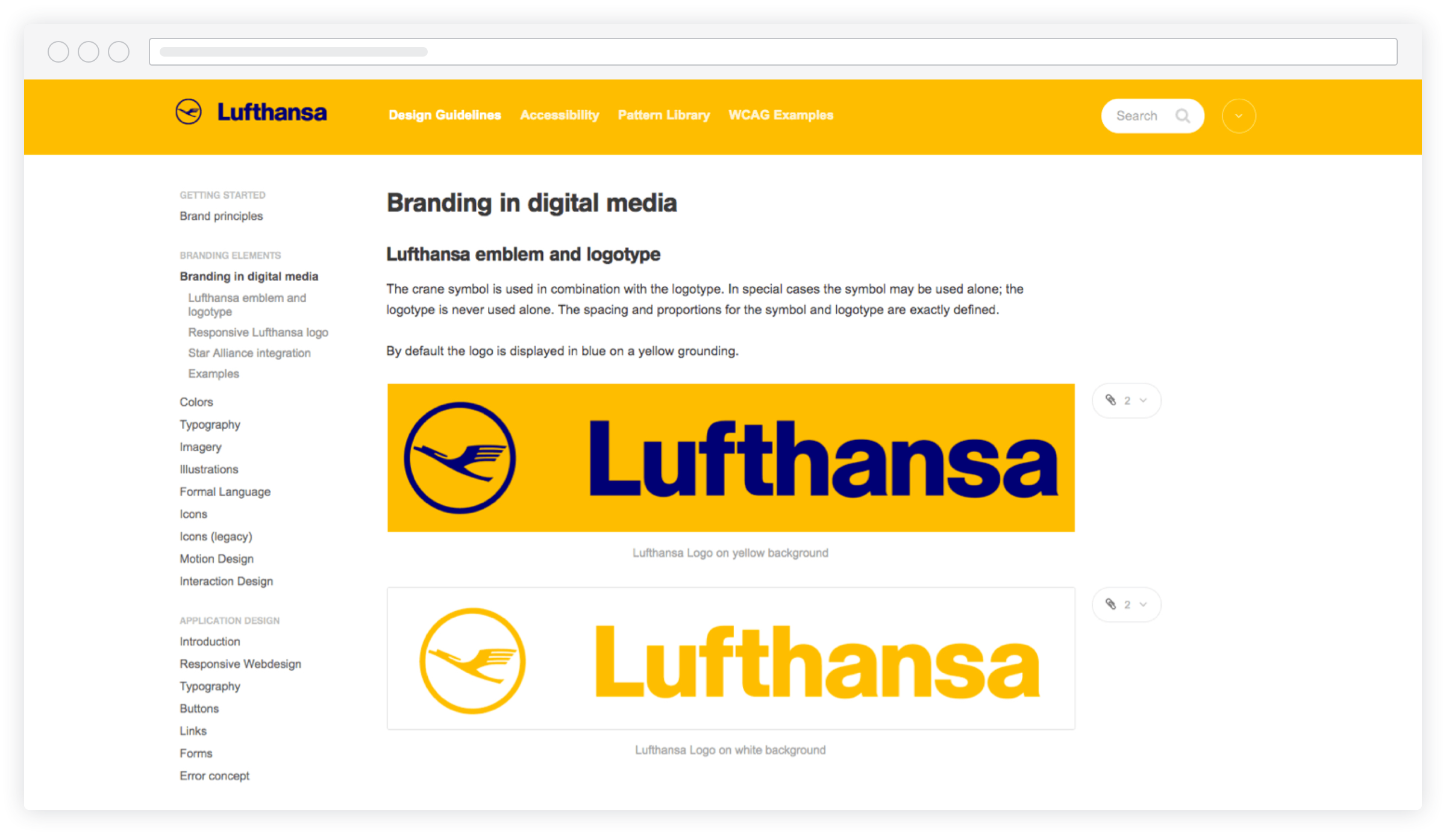 Screenshot lufthansa