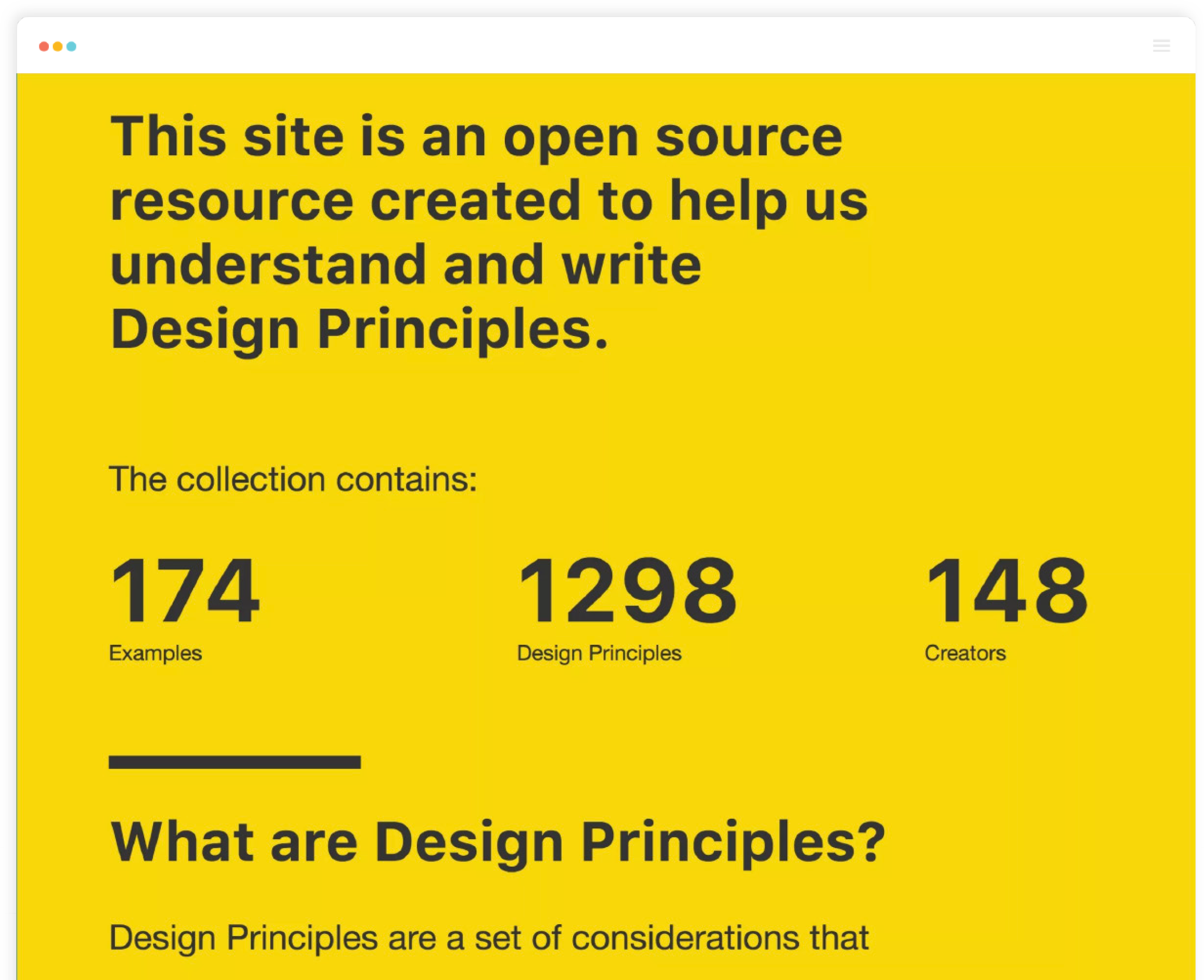 screenshot design-principles-creation-and-usage
