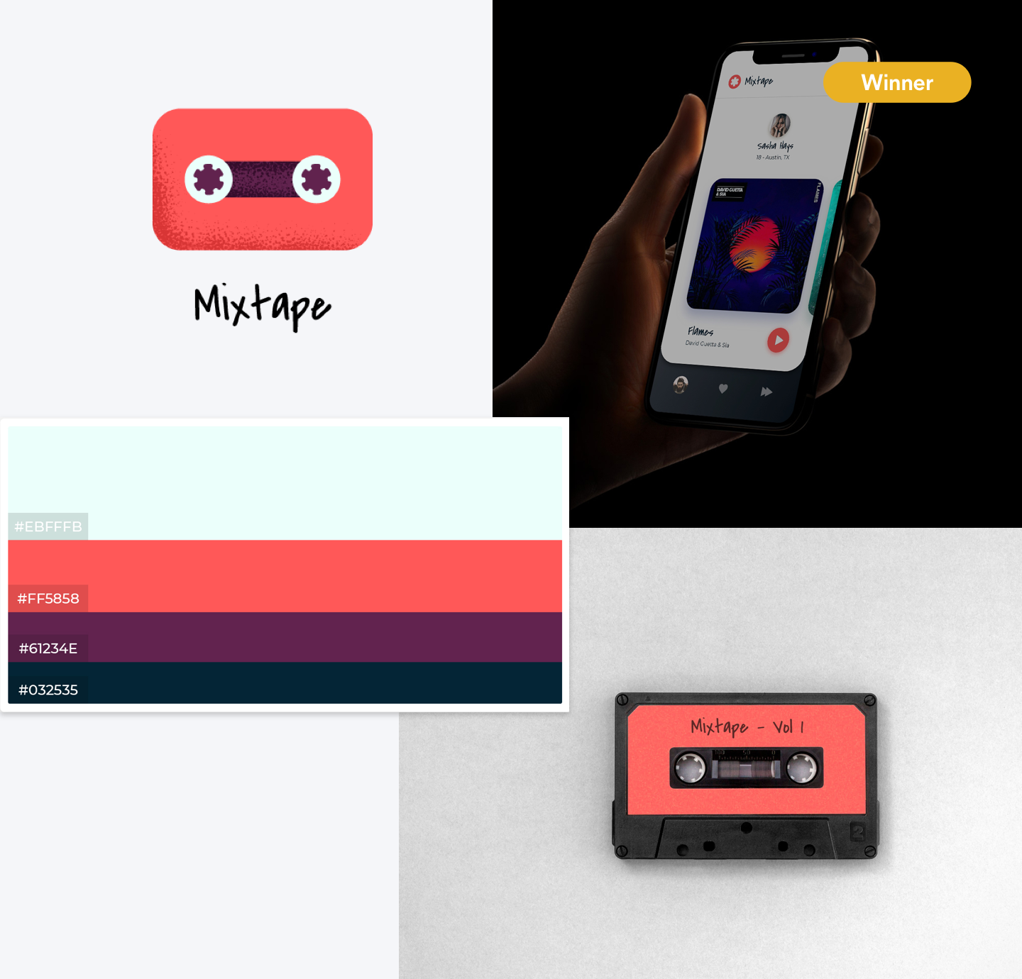 Blogpost–Dribbble-Contest-mixtape
