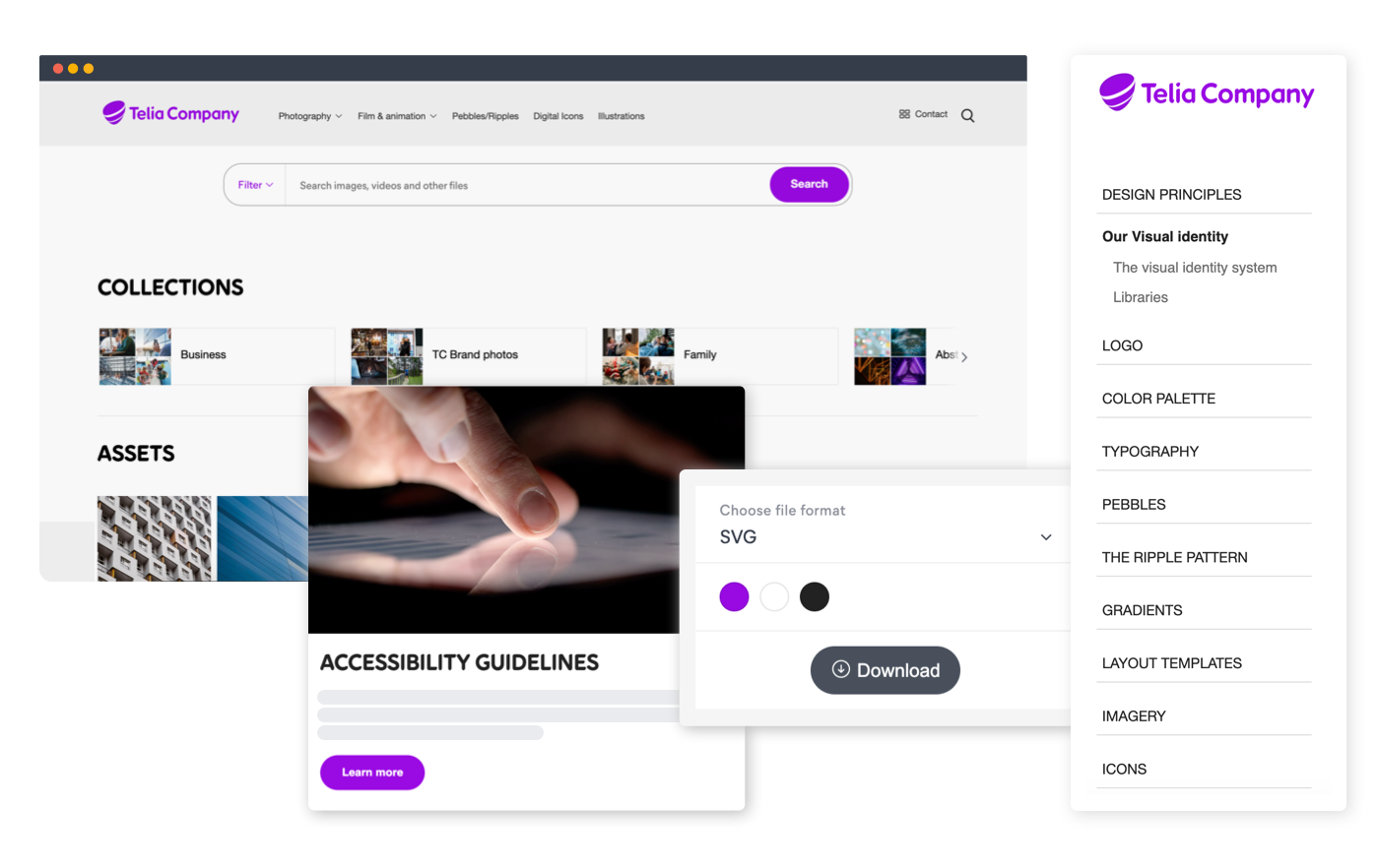 Telia and Frontify – Brand Center Use Cases