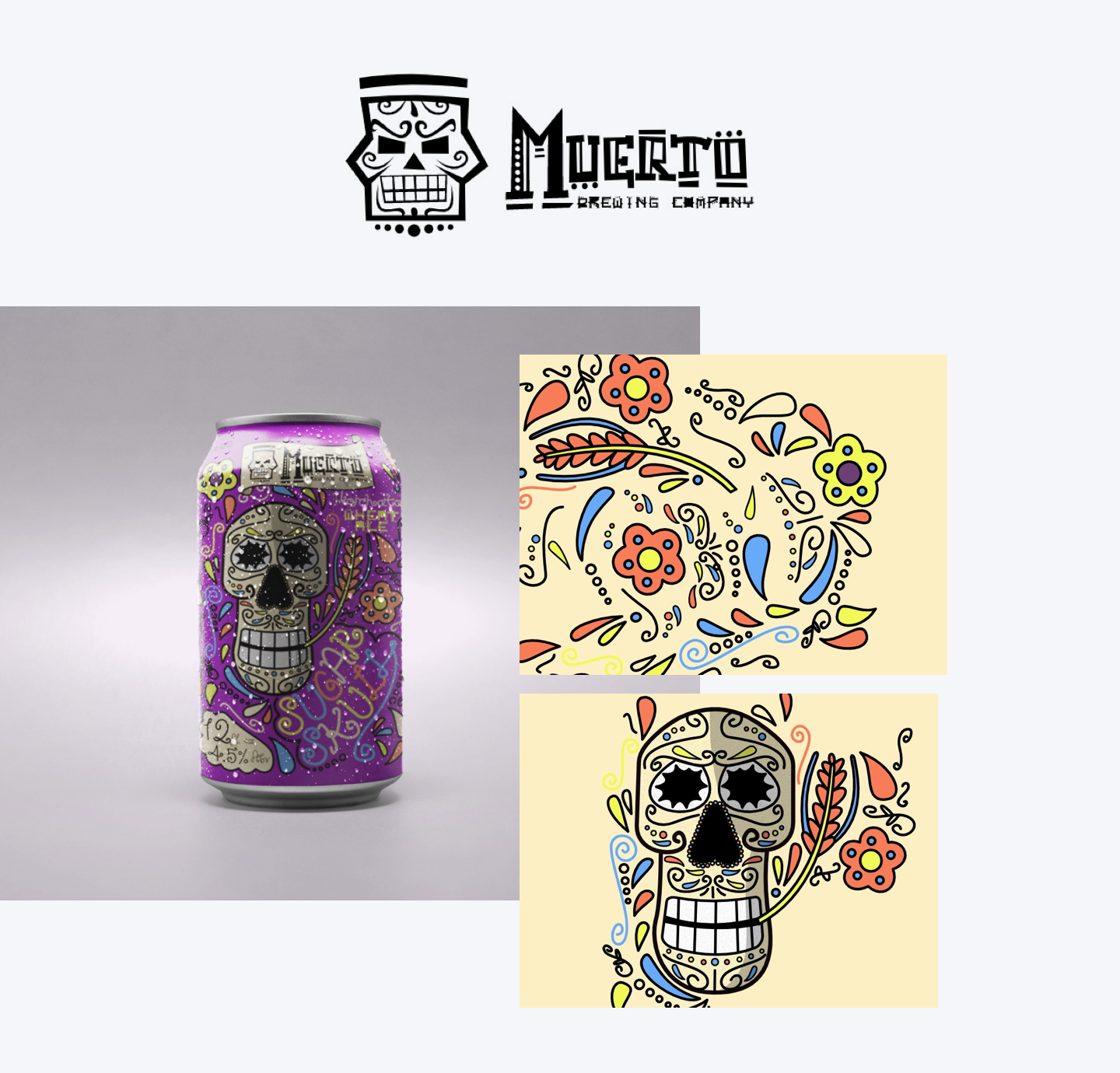 Blogpost–Dribbble-Contest-Muerto Brewing
