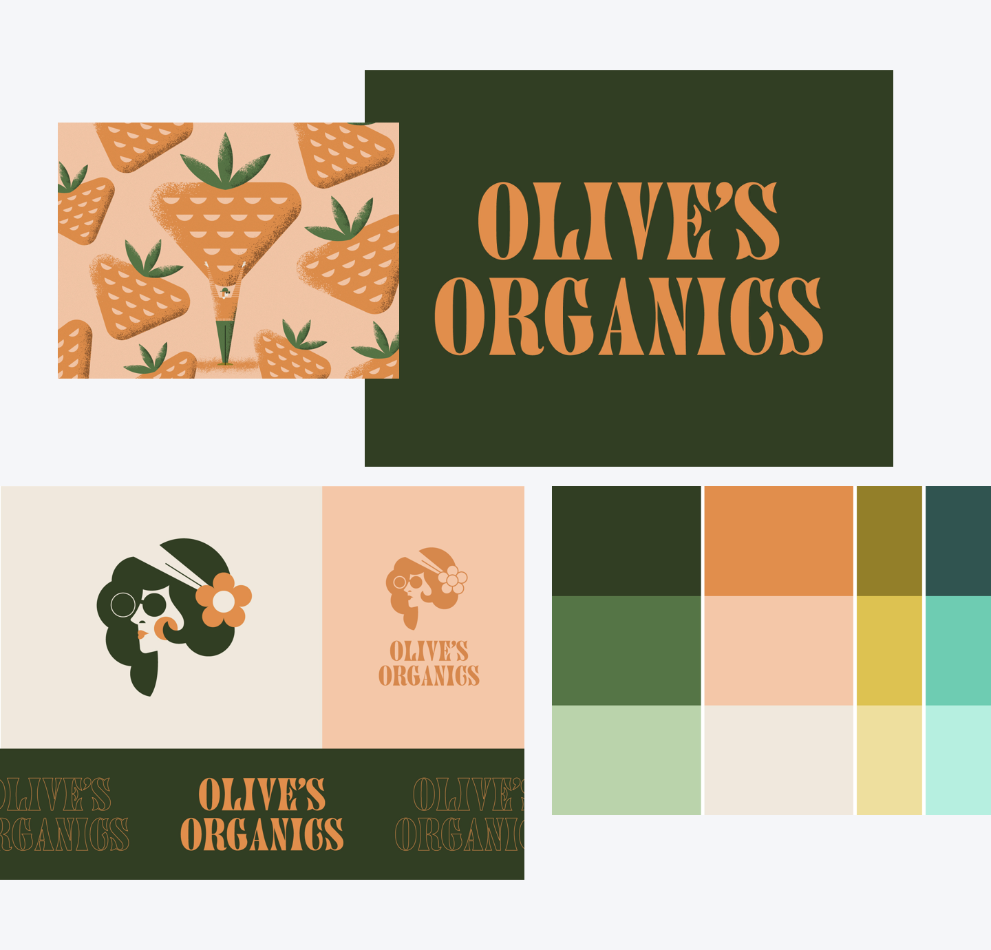 Blogpost–Dribbble-Contest-Olives-Organics