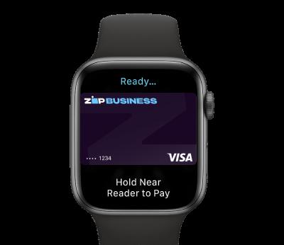 Apple Watch Zip Business Tap