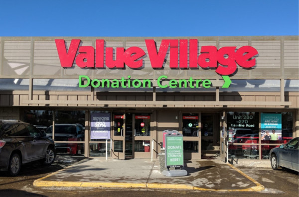 Value Village - Google Maps - Sherwood Store