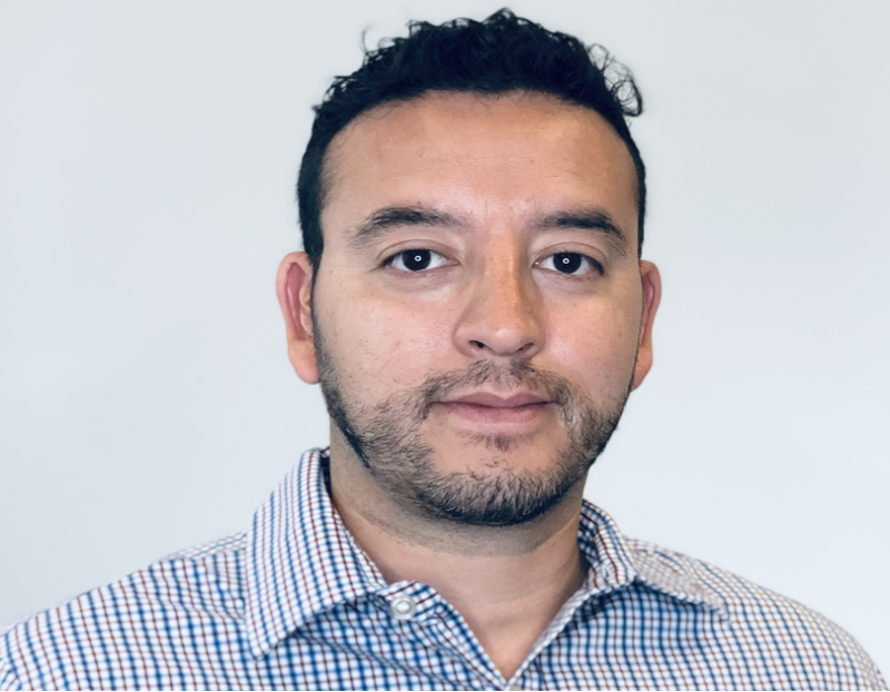 Headshot of CRG employee Guillermo