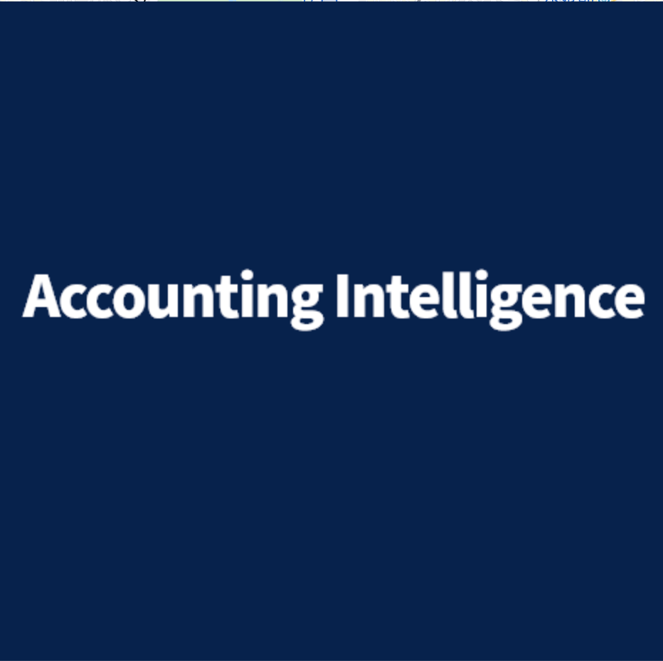 Accounting Intelligence