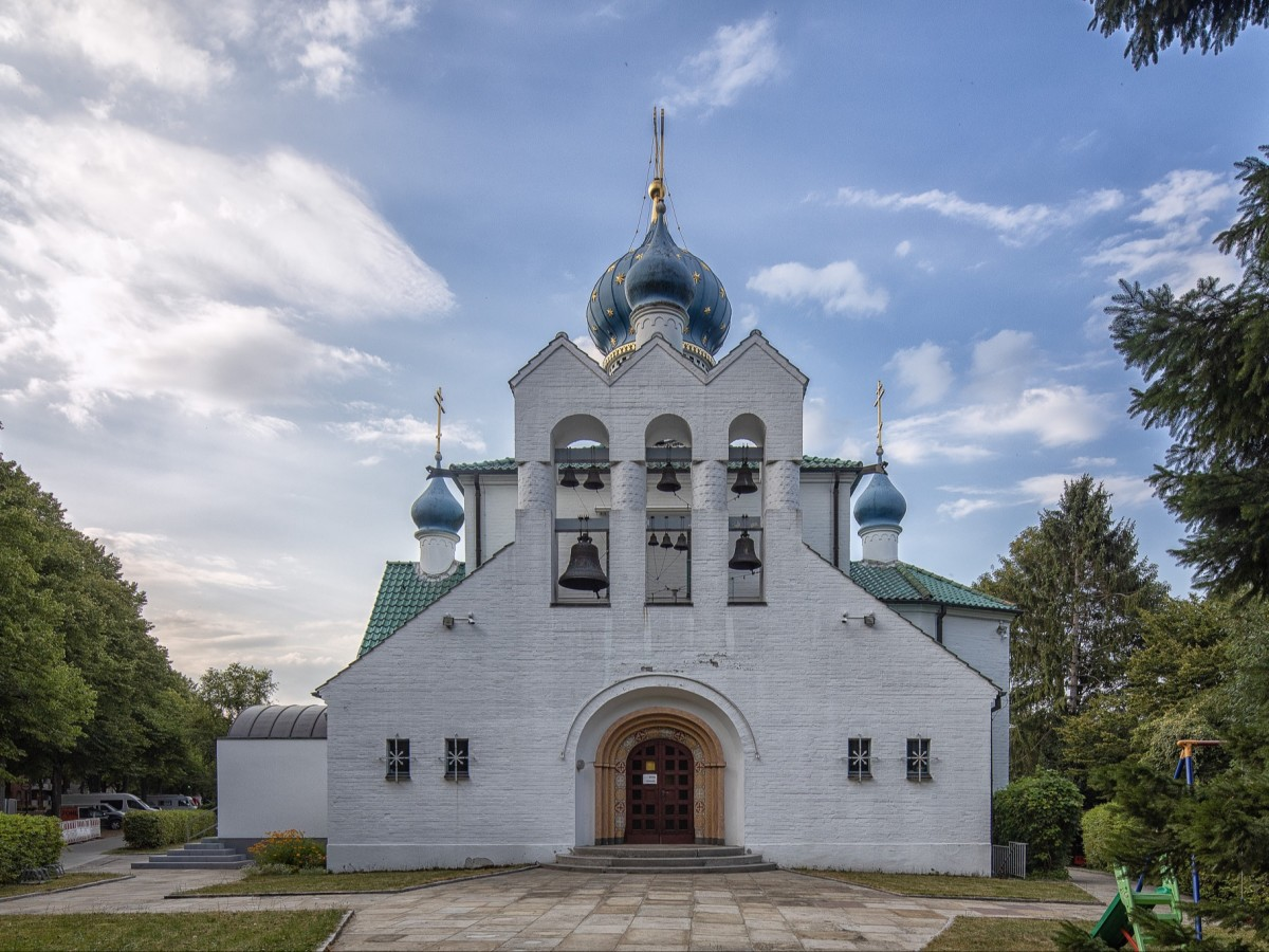 Hamburg Lokstedt Russische Kirche des heiligen Prokop, copyright:AndreasKreutzer