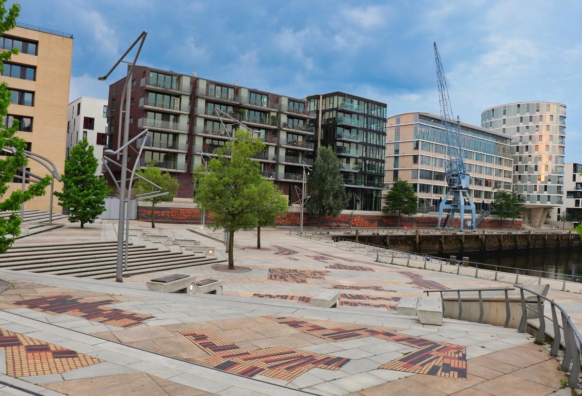 Hamburg Hafencity Platz, Quelle:pixabay