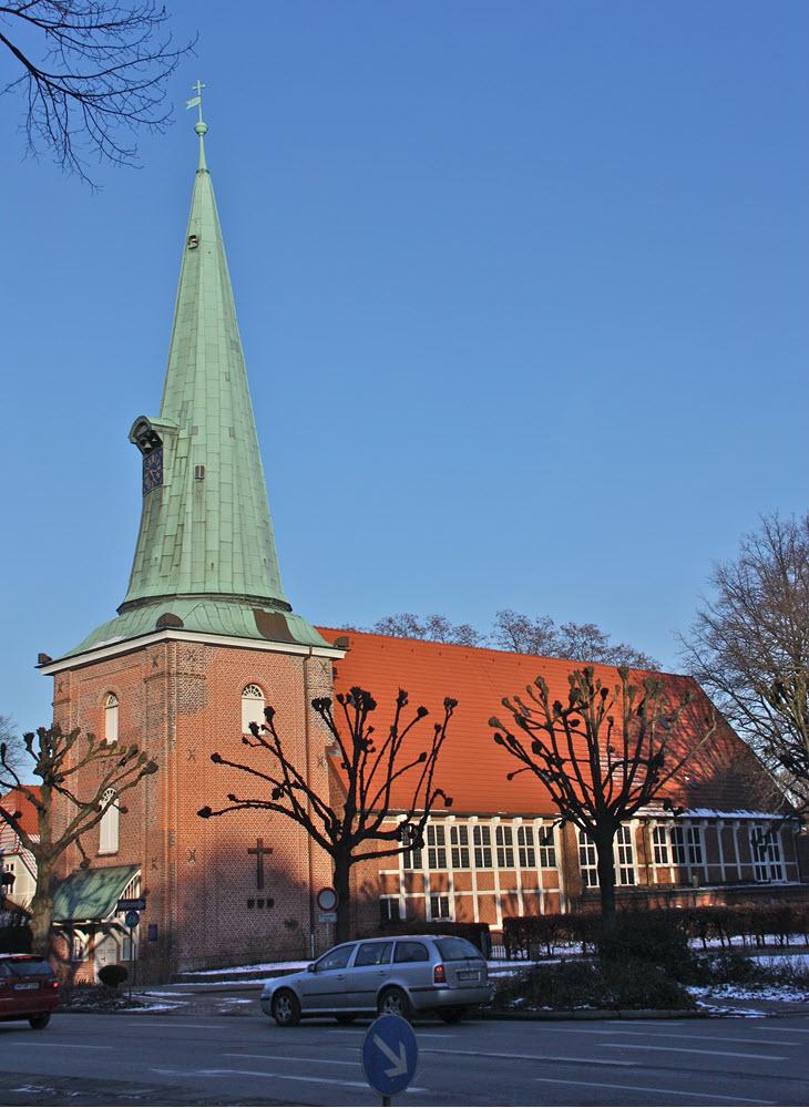 Hamburg Eppendorf St. Johannis Kirche