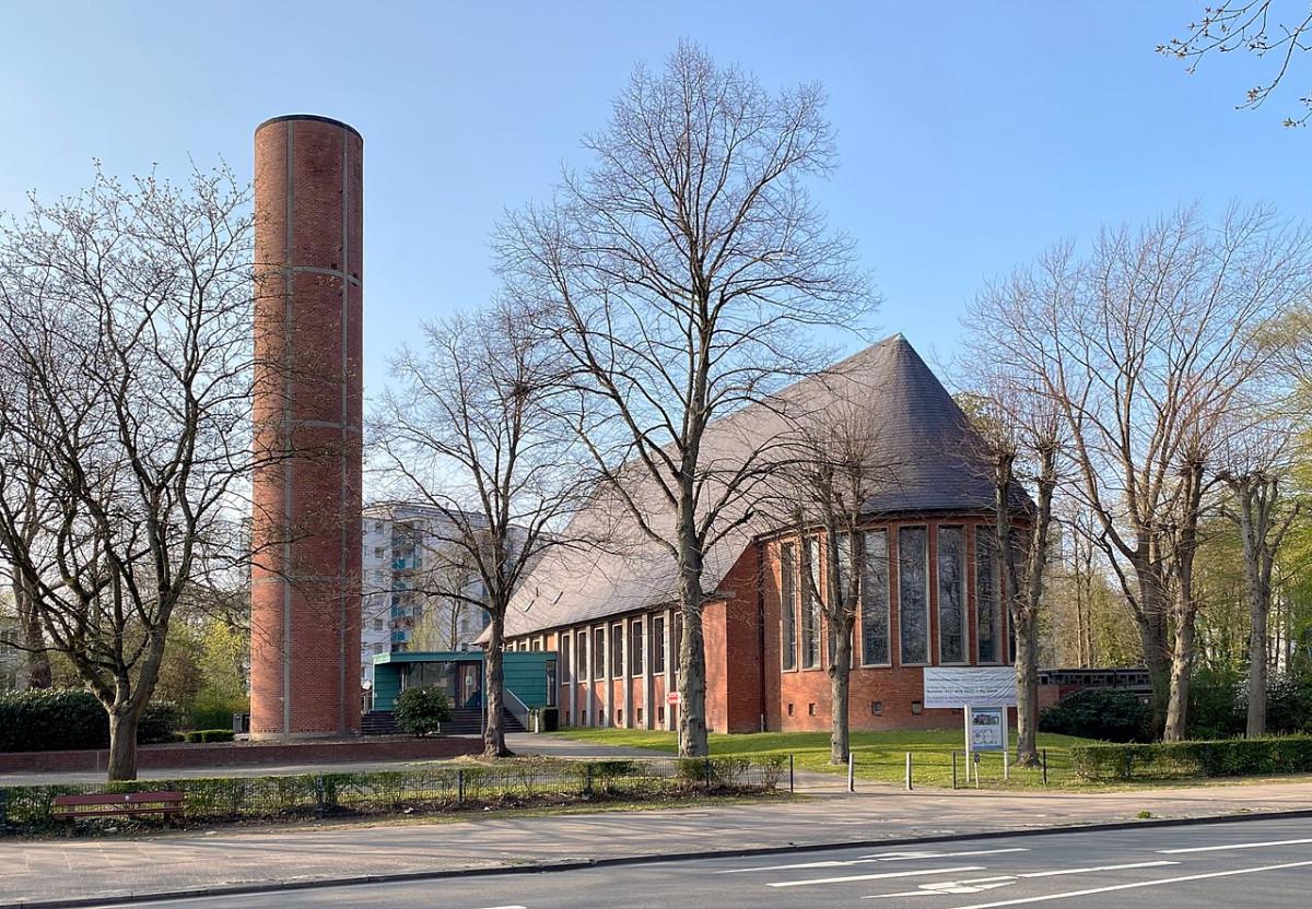 Hamburg Lurup Kirche zu den Zwölf Aposteln