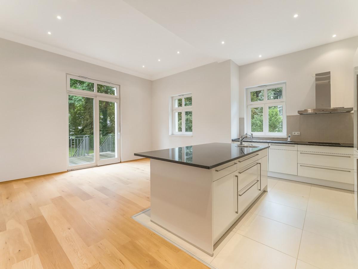 Separater Küchenbereich