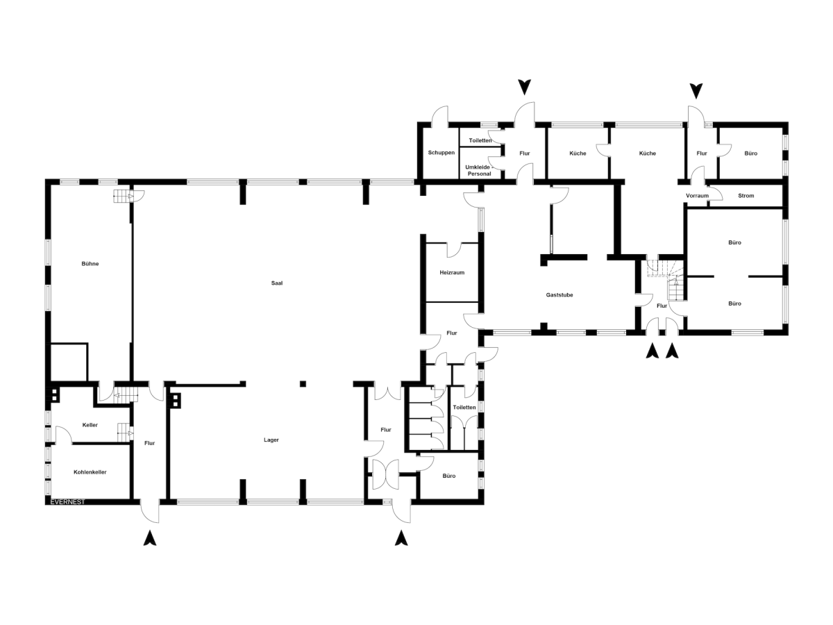 Grundriss Etage 1