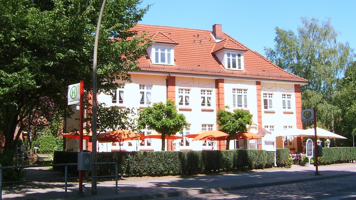 Hamburg Bramfeld altes Rathaus Gasthof