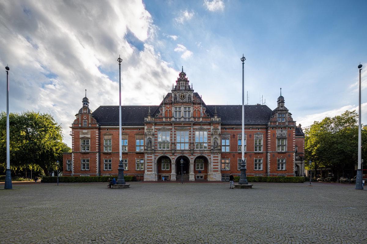 Hamburg Harburg Rathaus, copyright:AndreasKreutzer