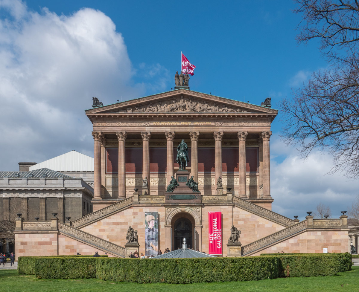 Berlin Mitte Alte Nationalgalerie, Copyright:AndreasKreutzer