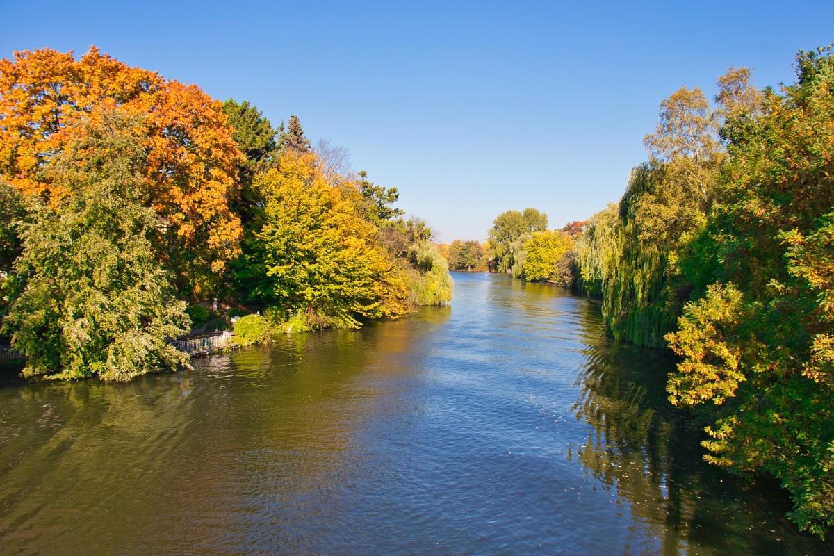 Hamburg Alsterlauf im Herbst, Quelle: Pixabay