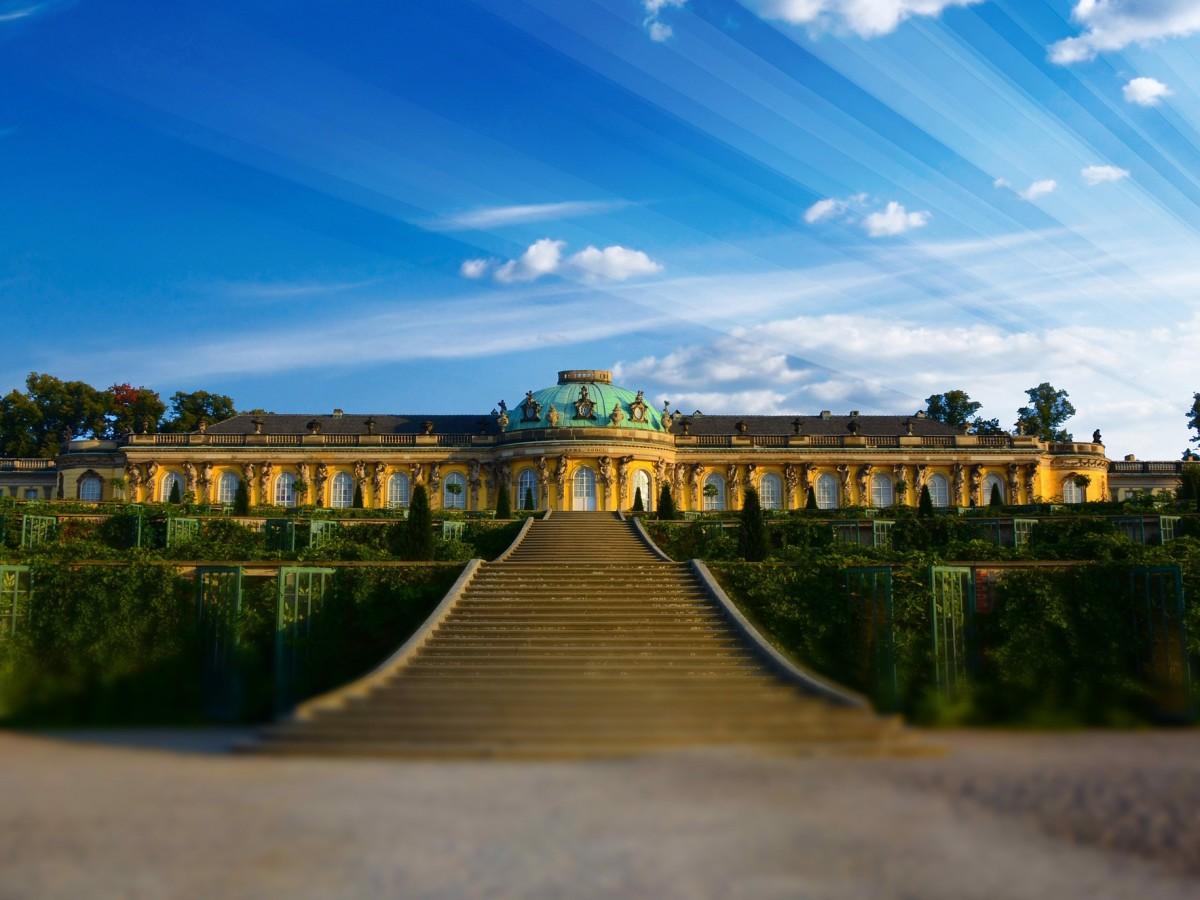 Potsdam Schloss Sanssouci, Copyright: Pixabay