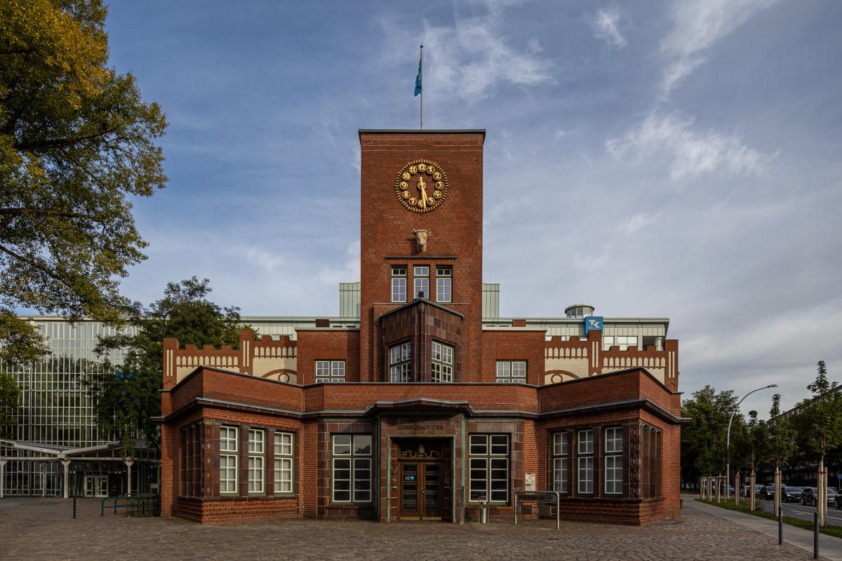 Hamburg Barmbek Margarinefabrik Voss, copyright:AndreasKreutzer