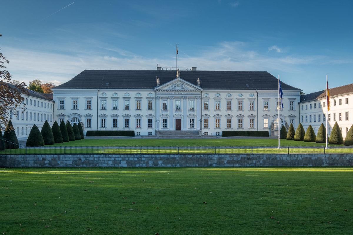 Berlin Tiergarten Schloss Bellevue, copyright:AndreasKreutzer