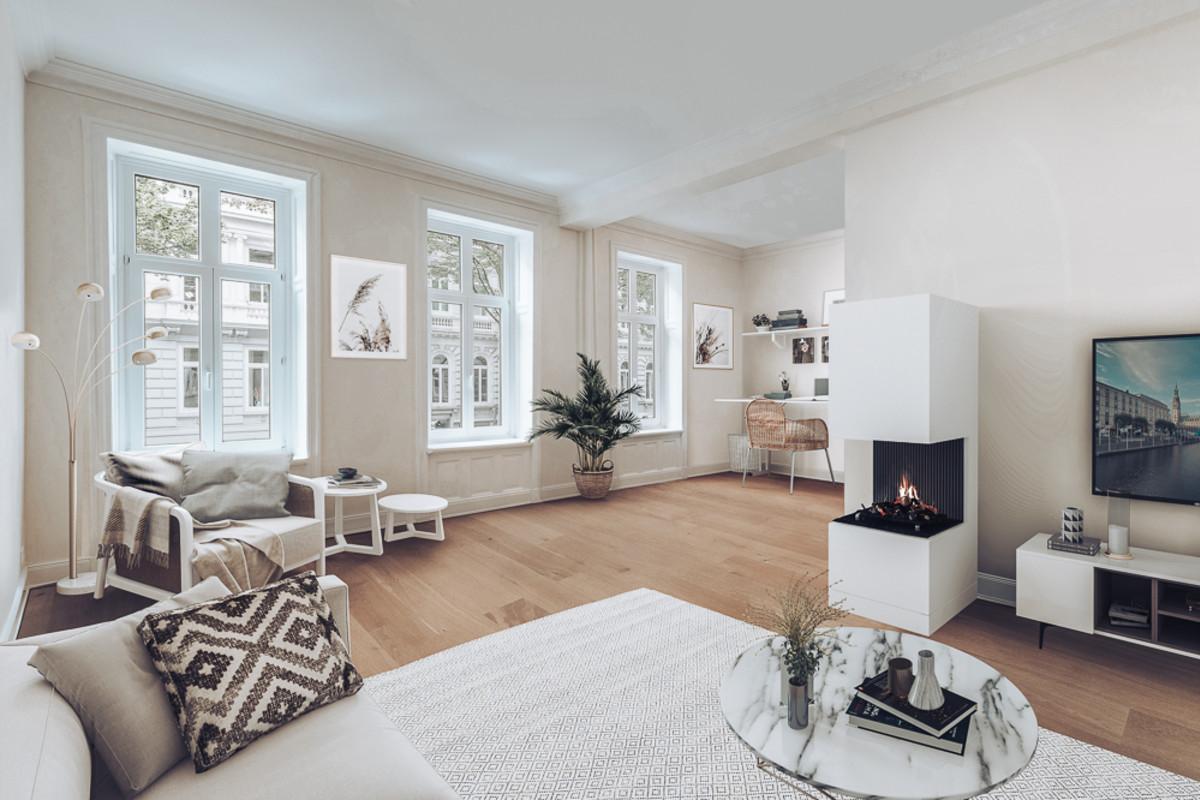 Beispiel Gestaltung Wohnzimmer