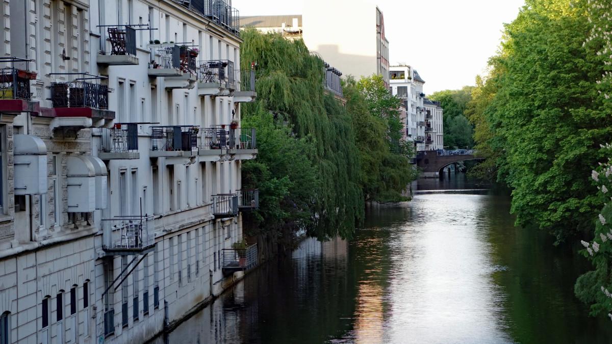 Hamburg Hoheluft-Ost Isebekkanal, source: pixabay