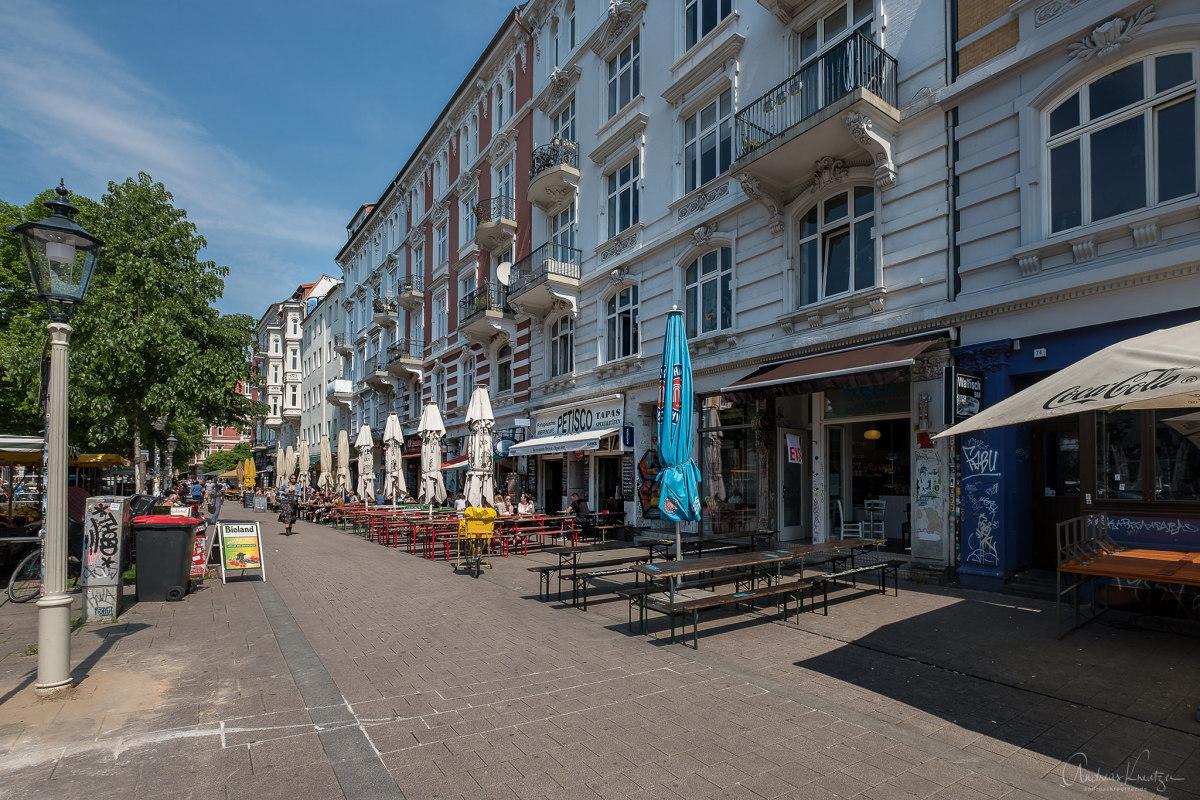Hamburg Sternschanze Schanzenviertel Piazza Floraplatz