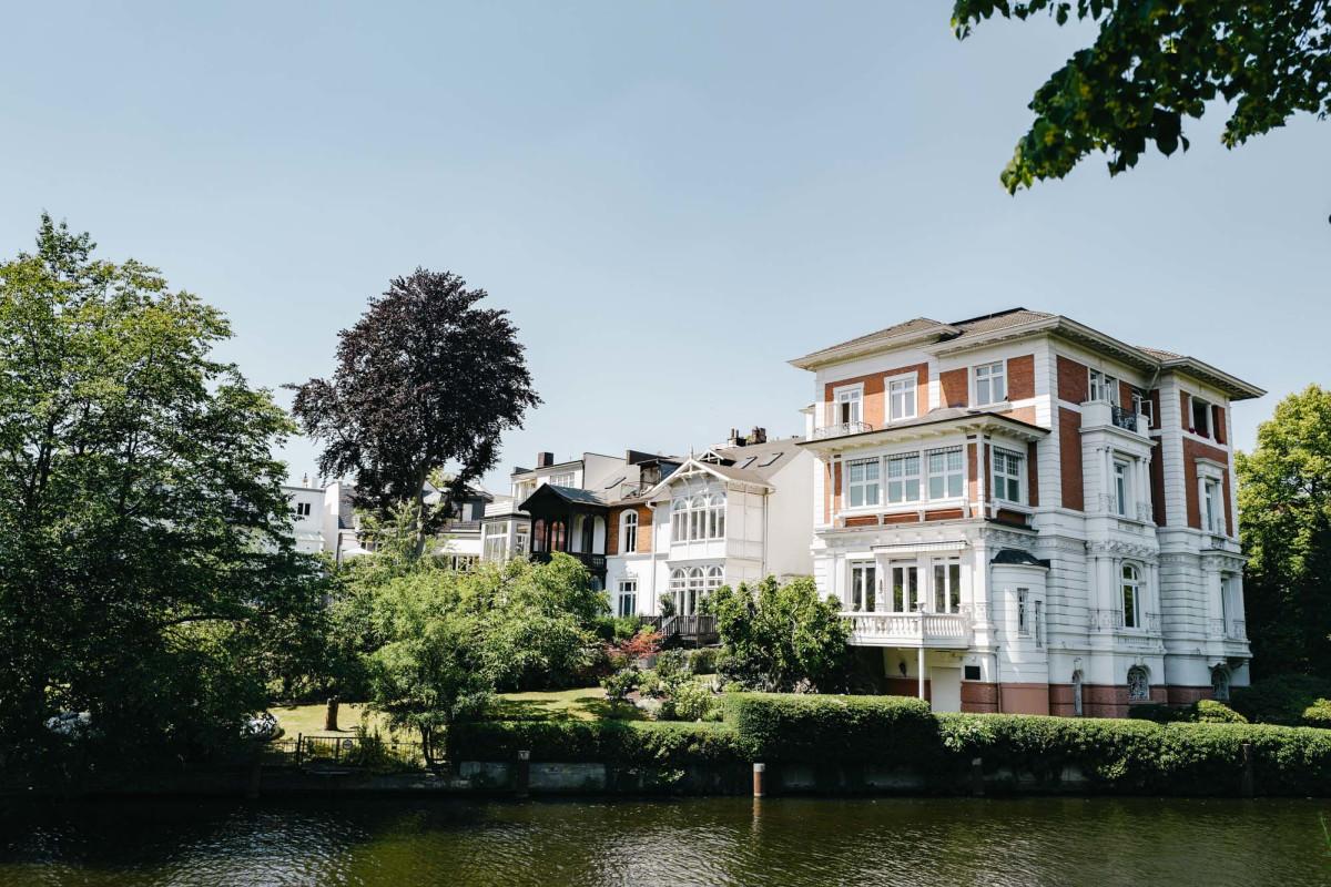 Hamburg Winterhude Alster Villa