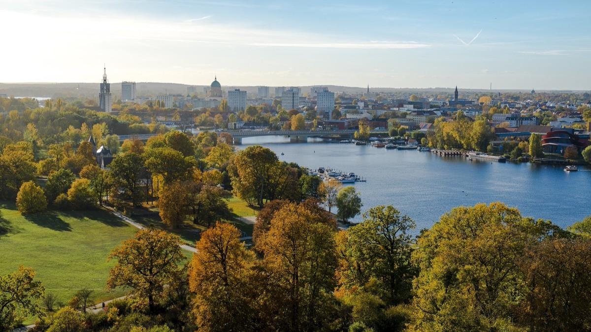 Potsdam von oben, Copyright: Pixabay/Kai Vogel