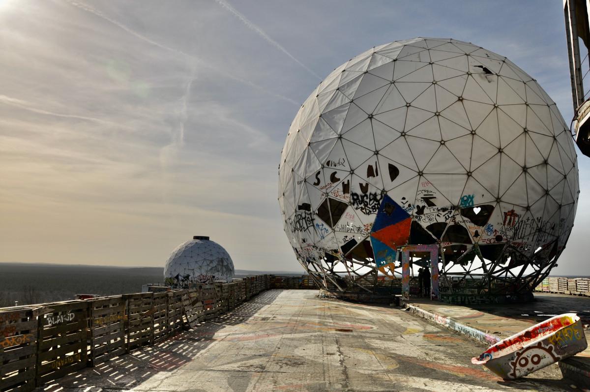 Berlin Grunewald Teufelsberg, Quelle:unsplash