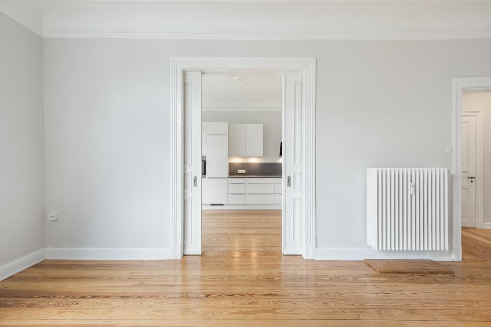 Durchgang Wohn- Küchenbereich