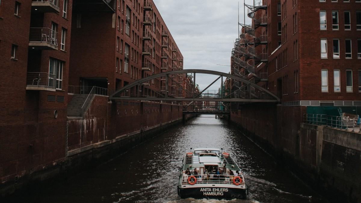Hamburg Hamm Speicherstadt, Copyright: Unsplash/Silvan Steiner