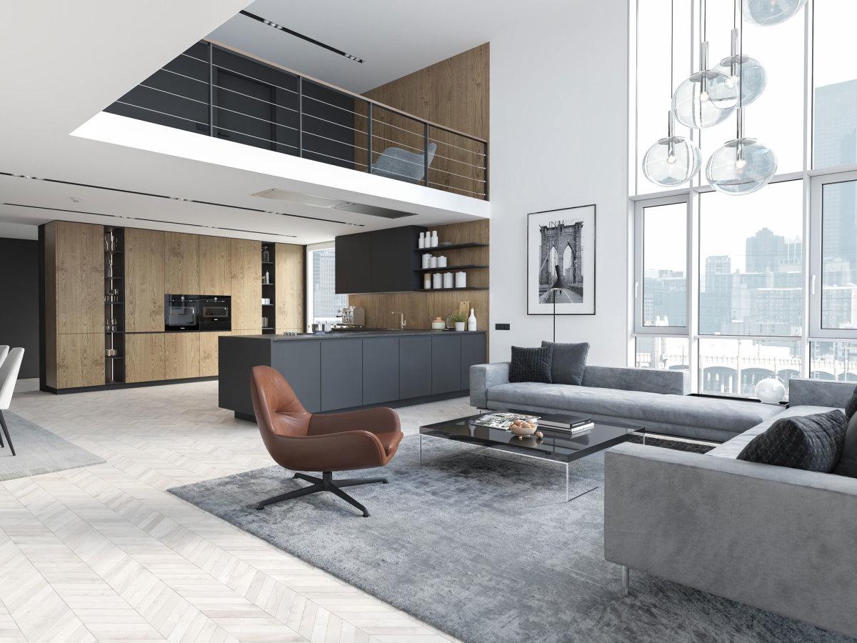Immobilie Wohnzimmer Evernest