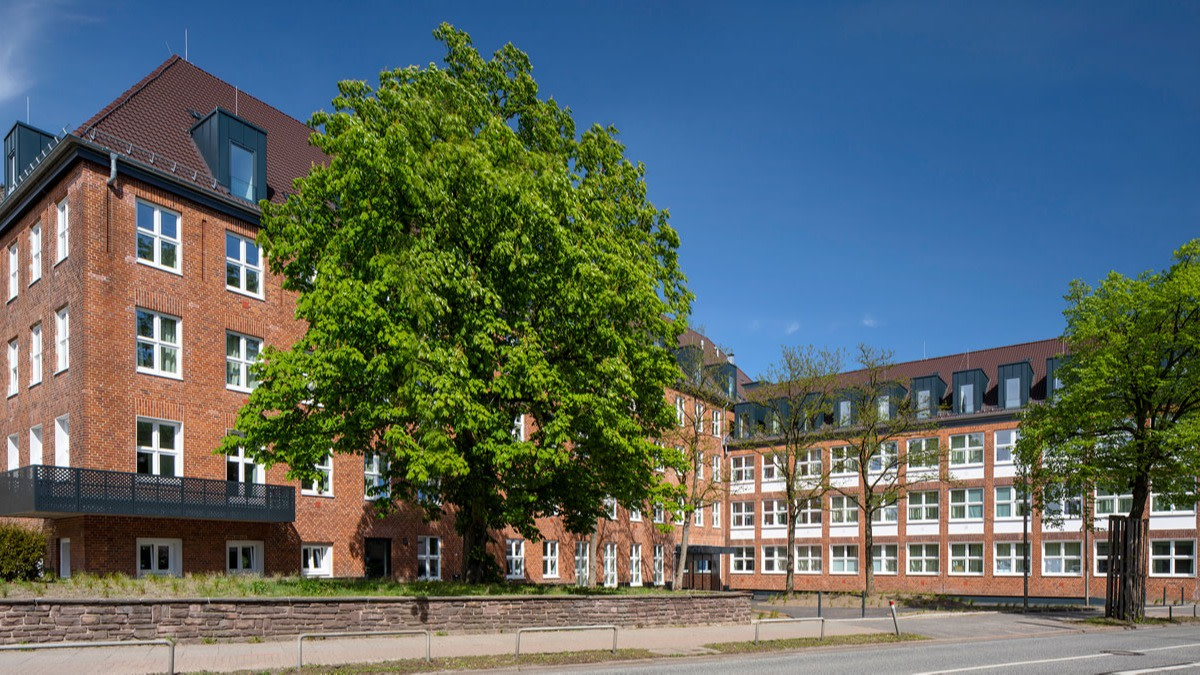 Hamburg Wandsbek Fassade
