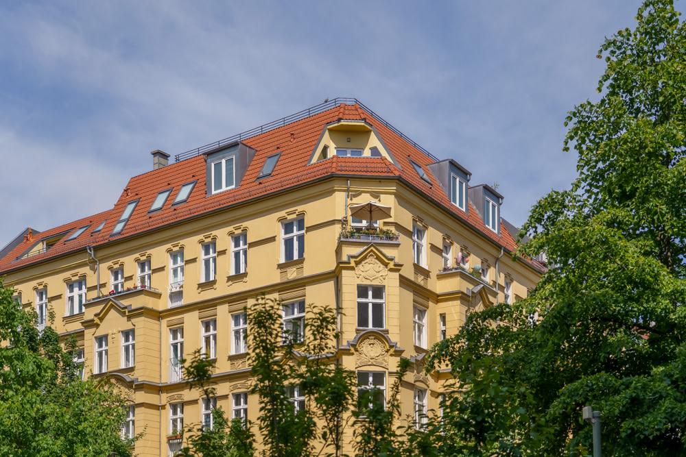 Dachgeschosswohnung im Gleimviertel