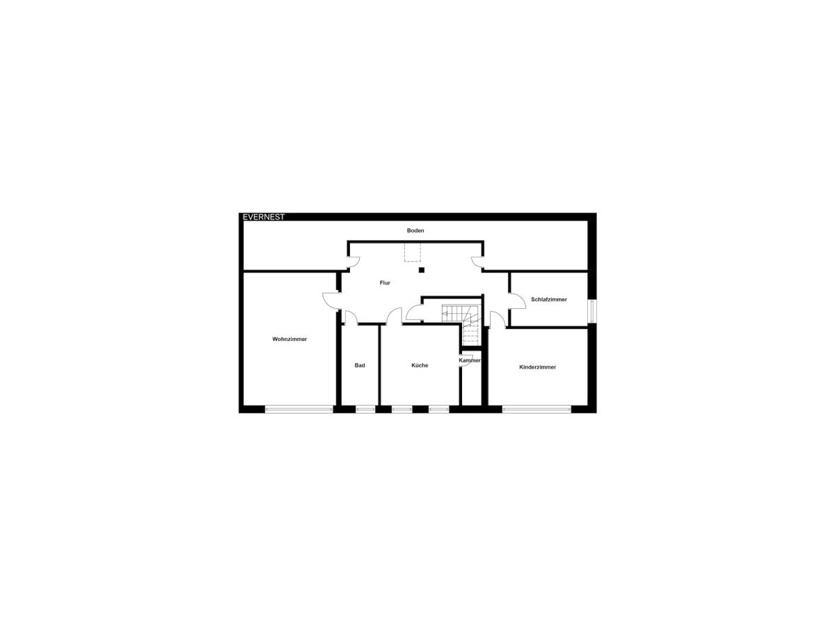 Grundriss Etage 2