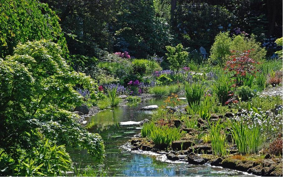 Hamburg Groß Flottbek Garten