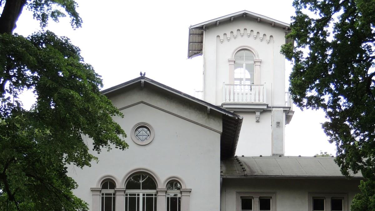 Berlin Niederschönhausen Villa mit Garten, Copyright: Christiane Großbongardt