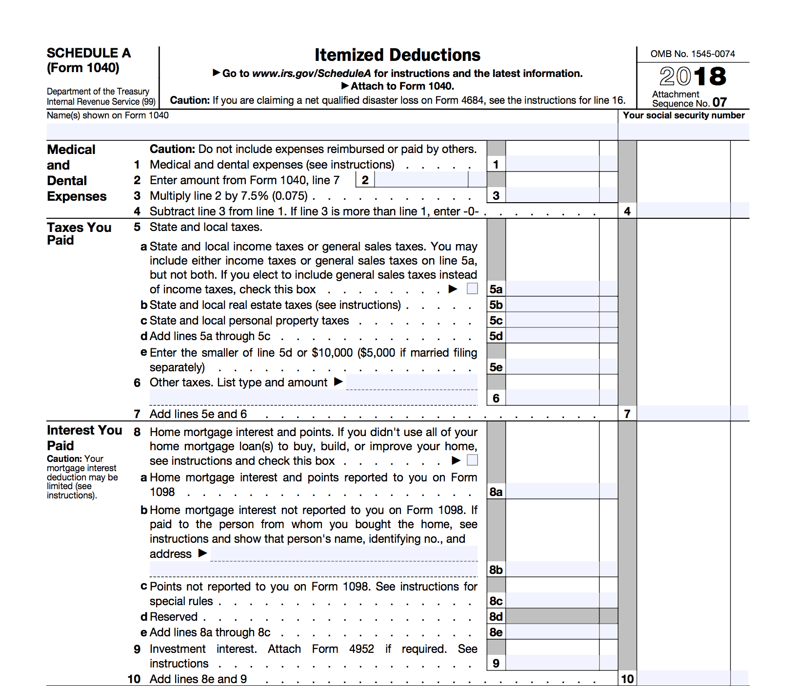 How To Reduce Your Tax Bill With Itemized Deductions Bench