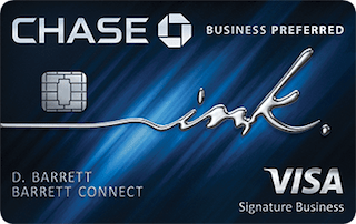 Chase Business Preferred 2019 VISA-min