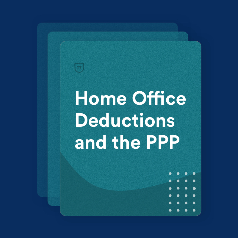 Home Office Deductions And The PPP