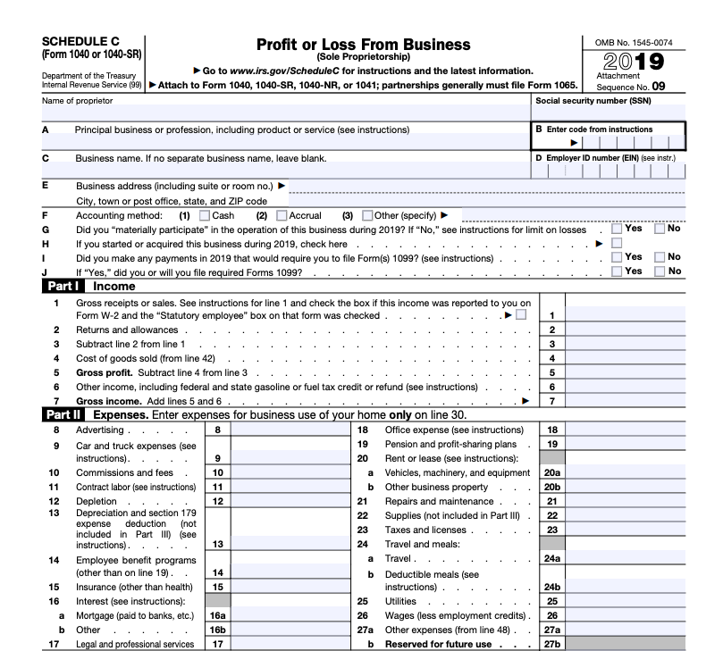 Sole Proprietorship Taxes A Simple Guide Bench Accounting